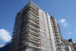 LWB-Sanierungsprojekt in der KarLi. Foto: Ralf Julke