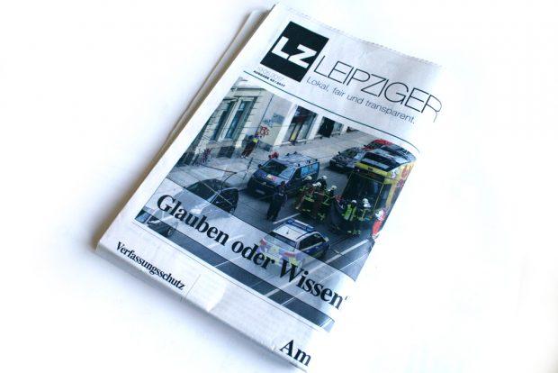 Leipziger Zeitung Nr. 43. Foto: Ralf Julke
