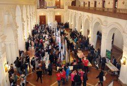 Integrationsmesse im Neuen Rathaus. Foto: Netzwerk Integration-Migrant/-innen in Leipzig e.V.