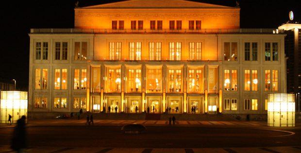 Leipzigs Opernhaus. Foto: Ralf Julke