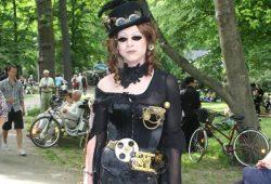 Steampunk-Outfit. Foto: L-IZ.de (Archiv)