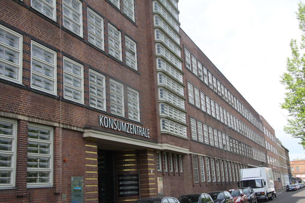 Sitz des Sächsischen Wirtschaftsarchivs: Konsumzentrale in Plagwitz. Foto: Gernot Borriss