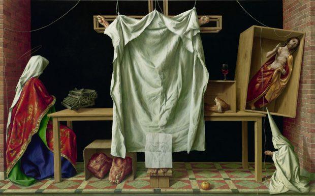 Michael Triegel: Deus absconditus (2013). Foto: Galerie Schwind
