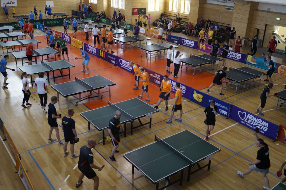 Foto: Tischtennis Firmen-Cup