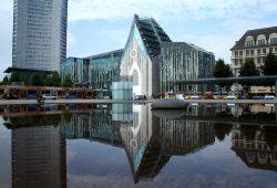 Die Gebäude der Universität am Augustusplatz. Foto: Ralf Julke