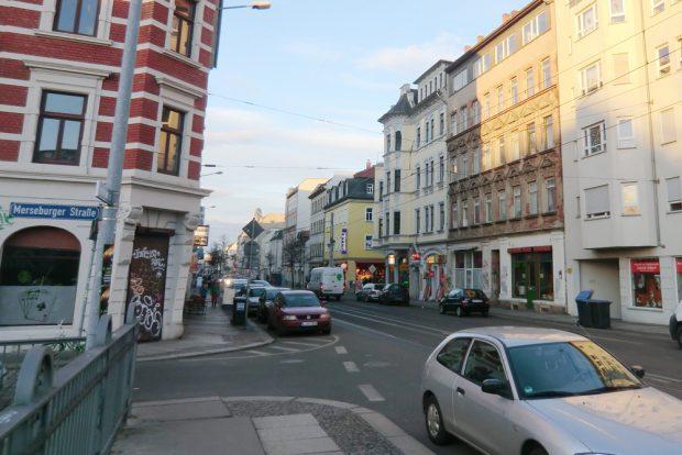 Zschochersche Straße / Ecke Merseburger. Foto: Marko Hofmann