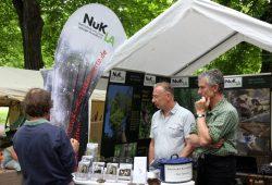 Der NuKla e.V. wie in jedem Jahr auf der Ökofete im Clarapark. Foto: L-IZ.de