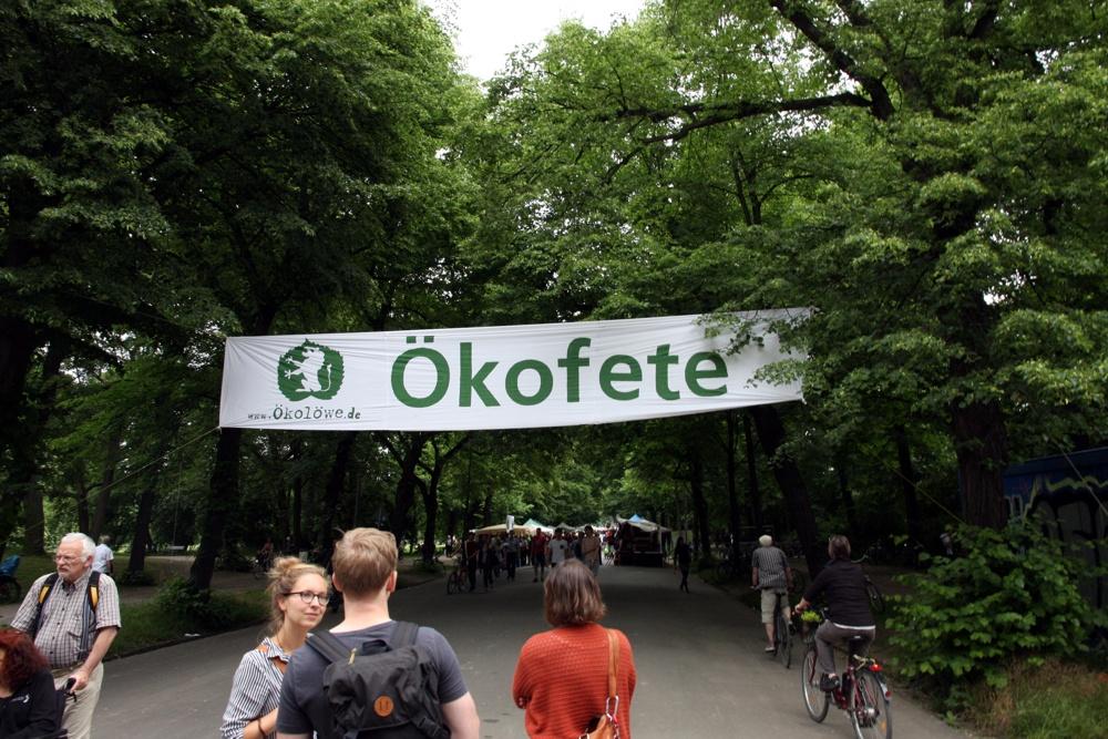 Ökofete im Clarapark. Foto: L-IZ.de