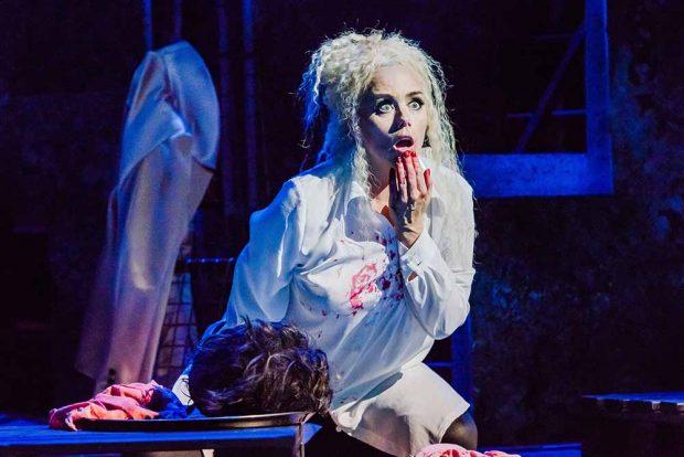 """""""Salome"""" in der Oper Leipzig. Foto: Kirsten Nijhof"""