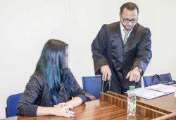 Michaela B. muss sich vor dem Amtsgericht wegen fahrlässiger Tötung verantworten. Foto: Martin Schöler