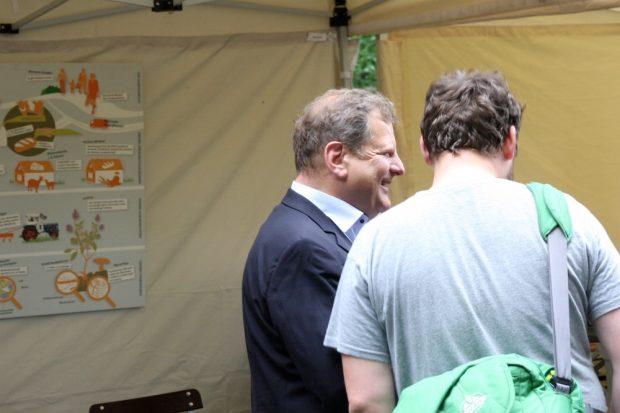 Bürgermeister Thomas Fabian auf der Ökofete 2016. Foto: L-IZ.de