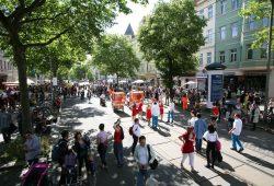 Bohei-Parade 2016. Foto: Frank-Heinrich Mueller