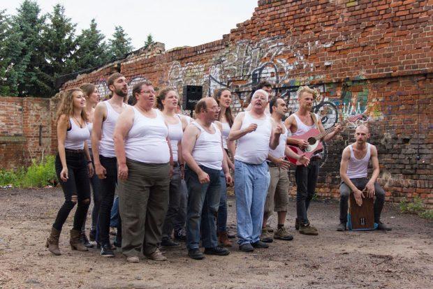 Letztjährige Inszenierung des Club Melo. Der Foto: Florian Liebetrau