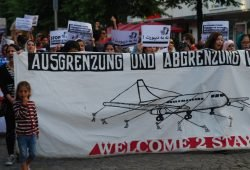 Demo gegen Abschiebungen in Leipzig. Foto: René Loch