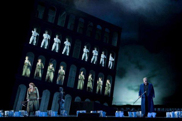 """""""Die Walküre"""" in der Oper Leipzig. Foto: Tom Schulze"""
