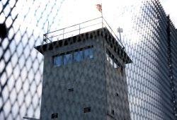 Ein ehemaliger DDR-Grenzturm als Menetekel im Thüringisch-Niedersächsischen Niemandsland. Foto: L-IZ.de