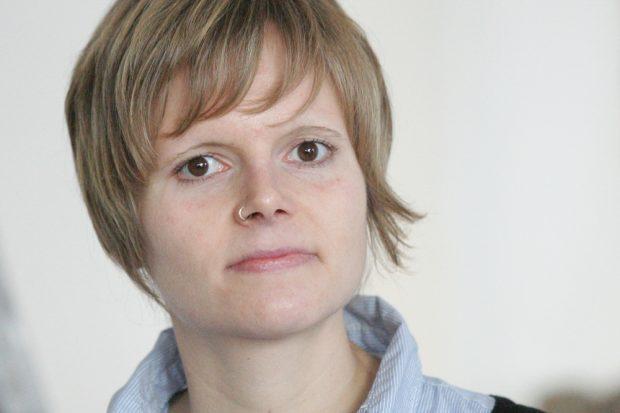 Sarah Köhler, die Leiterin der Leipziger Fanprojektes. Foto: Jan Kaefer