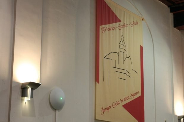 Der passende Wahlspruch zum Abend am Schiller Gymnasium. Foto: L-IZ.de