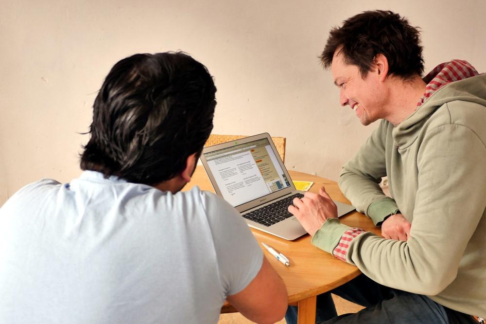 Die Kontaktstelle Wohnen sucht gemeinsam mit Freiwilligen und Geflohenen Wihnungen. Foto: Zusammen e.V.