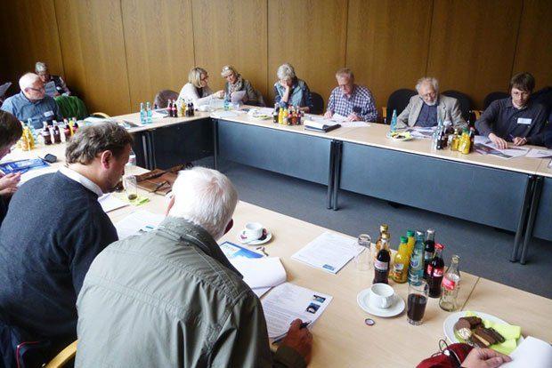 Auftaktveranstaltung von MOBI im hessischen Korbach. Foto: GeoUnion Alfred-Wegener-Stiftung