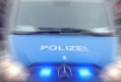 Polizeiwagen. Foto: Lucas Böhme