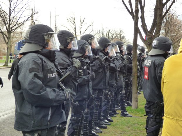 Polizei. Foto: Lucas Böhme
