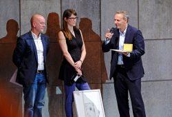 v.l.n.r.: Harald Müller, Dorte Lena Eilers und Enrico Lübbe. Foto: Kirsten Nijhof