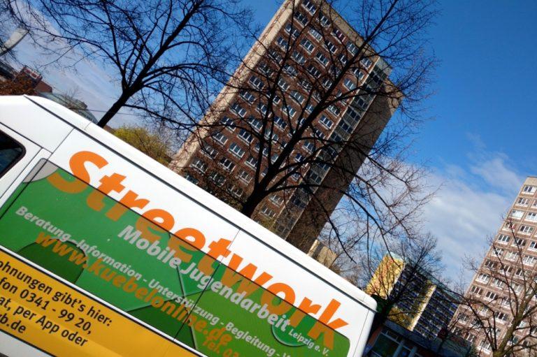 Mobile Jugendarbeit Leipzig e.V.: Auf der Straße unterwegs – für dich, deine Gruppe, deinen Stadtteil