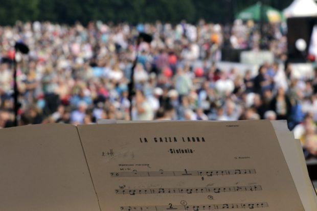 Zu hören war unter anderem Stücke von Rossini. Foto: Alexander Böhm