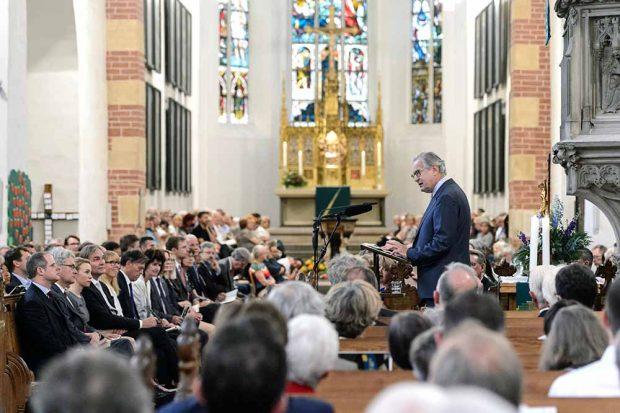 Sir John Eliot Gardiner eröffnet das Bachfest 2017. Foto: Bachfest Leipzig/Jens Schlüter