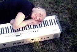 Der Mann am Klavier. Foto: Bernd Reiher, privat
