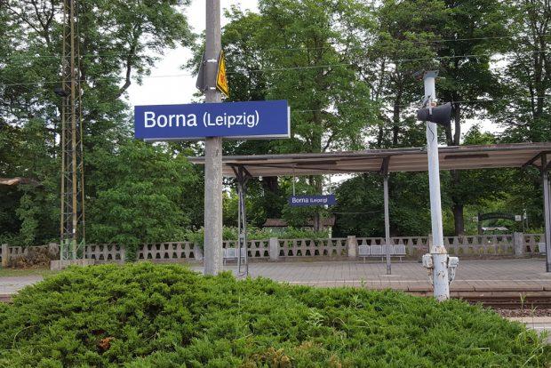 Willkommen in der Kreisstadt Borna. Foto: Marko Hofmann