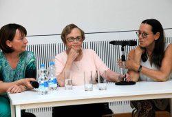 Zeitzeugengespräch mit Eva Wechsberg. Foto: Ephraim Carlebach Stiftung