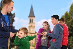 Sächsischer Familientag. Foto: SMS
