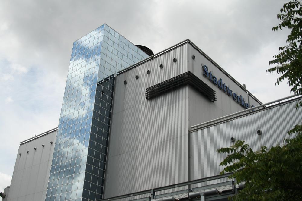 Die GuD-Anlage der Stadtwerke Leipzig - hier noch mit Schriftzug. Archivfoto: Ralf Julke