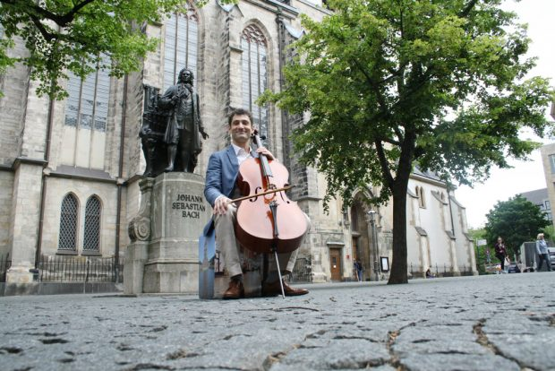 Dale Henderson und Johann Sebastian Bach. Foto: Ralf Julke