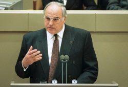 Helmut Kohl – Regierungserklärung 16. November 1989. Quelle: Bundesregierung/Engelbert Reineke