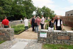 Eröffnung des Kräutergartens. Foto: Stadtverwaltung Eilenburg