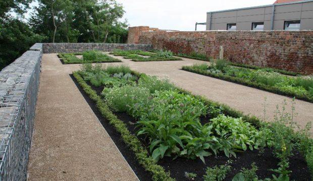 Der neu angelegte Kräutergarten. Foto: Stadtverwaltung Eilenburg