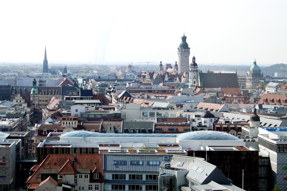 Leipzig, Blick Richtung Süden. Foto: Ralf Julke