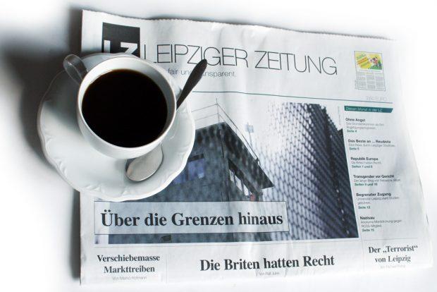 Leipziger Zeitung Nr. 44. Foto: Ralf Julke
