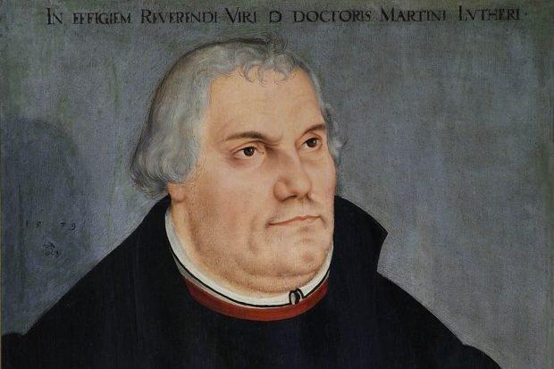 Legende: Martin Luther, Lucas Cranach d. J. (1579). Foto: Christoph Sandig