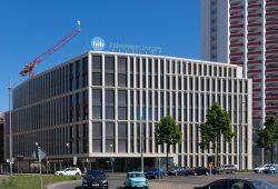 Unternehmenssitz der LWB an der Wintergartenstraße. Foto: LWB, Peter Usbeck