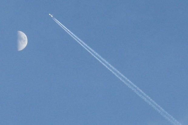 Sachsens Flugverkehr verursacht steigende CO2-Emissionen. Foto: Ralf Julke