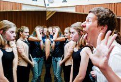 Probe des Theaterjugendclub. Foto: Kirsten Nijhof