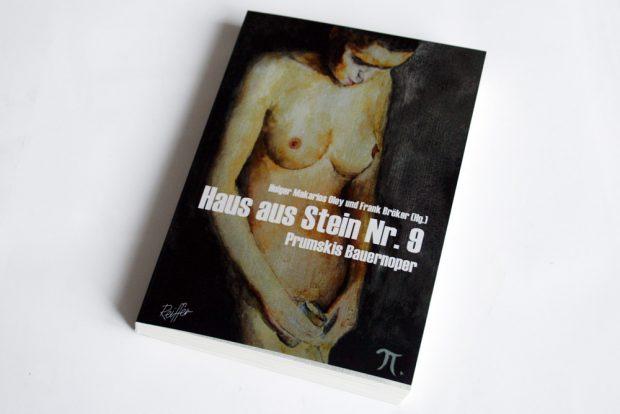Holger Makarios Oley, Frank Bröker (Hrsg.): Haus aus Stein Nr. 9. Foto: Ralf Julke