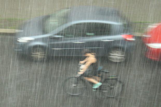 Das Leben als Radfahrer ist eh nicht leicht. Foto: Ralf Julke