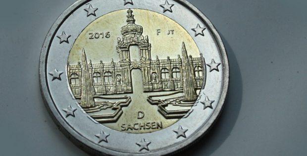 Sachsen-Euro. Foto: Ralf Julke