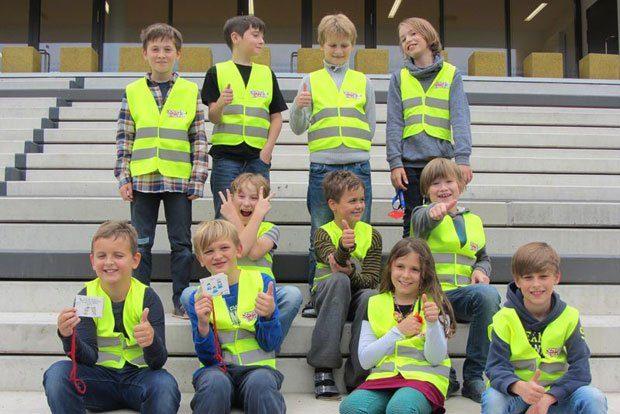 Die Streitschlichter. Foto: 3. Grundschule