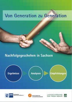 """Cover zum Bericht """"Von Generation zu Generation""""."""